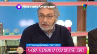 El actor y dirigente radical defendió la honorabilidad del expresidente Raúl Alfonsín.