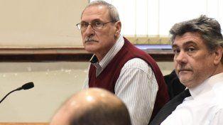 César Frate durante una de las primeras audiencias del juicio que comenzó hace algunas semanas.