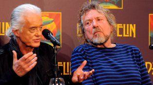 Indignados. Robert Plant y Jimmy Page dijeron que la demanda es ridícula.