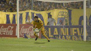 García atajó la mayoría de los partidos en el torneo local