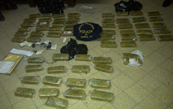la discordia. La foto que Drogas Peligrosas difundió tras la detención de Muga el 18 de septiembre de 2012.