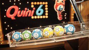 El sorteo del Quini 6 se realizará el próximo domingo a las 21.15.