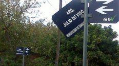 El cartel de la calle Julio De Vido fue retirado de Granadero Baigorria.