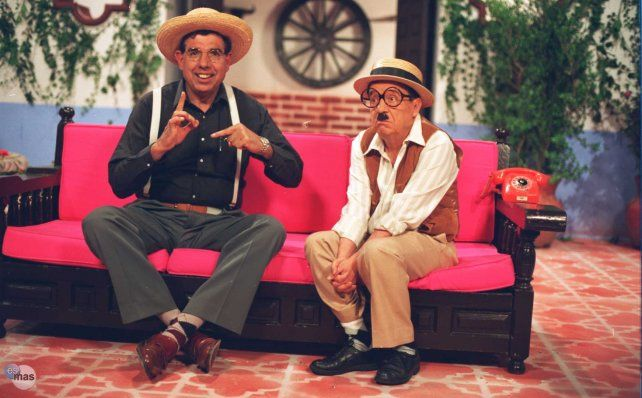 Chaparrón Bonaparte y Lucas formaban parte de la serie Los Chifladitos