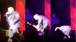 El rockero estadounidense Meat Loaf se desmayó en pleno concierto