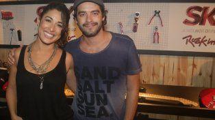 Guilherme Winter y Giselle Itié