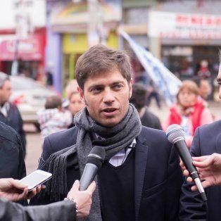 Axel Kicillof espera que se actúe rápidamente en el caso de José López.