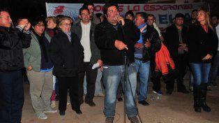 Daniel Elías es intendente de Chamical por el FpV.