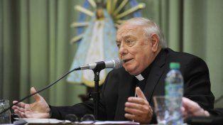 El arzobispo de Santa Fe y presidente de la Conferencia Episcopal Argentina