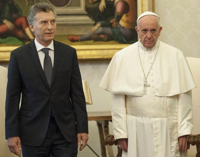 Miradas que hablan. Macri y el Papa durante el último encuentro de hace unos meses en El Vaticano.