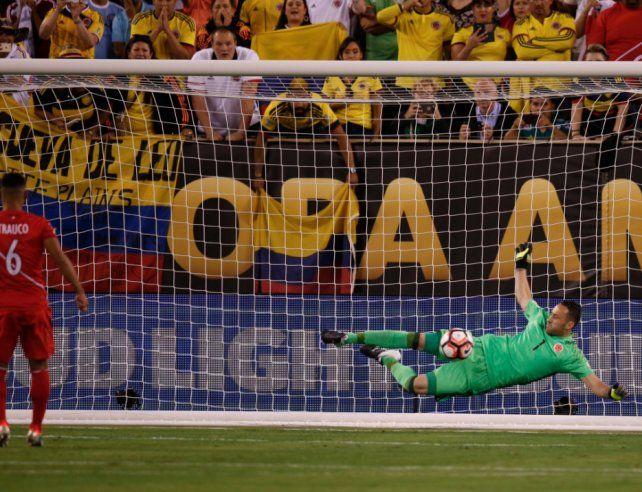 Ospina fue el héroe colombiano en el final del juego y en los penales.