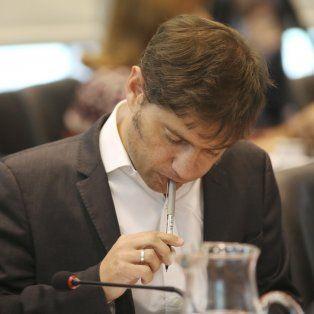 Molesto. Kicillof dijo sentir bronca como militante por el caso López.