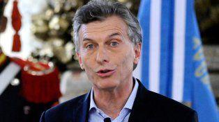 El presidente Macri habló hoy sobre el caso de José López