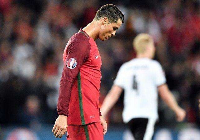 Cristiano Ronaldo falló un penal y Portugal igualó 0-0 frente a Austria.