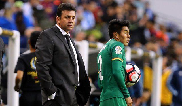 Baldivieso reiteró sus deseos de continuar como seleccionador de Bolivia.