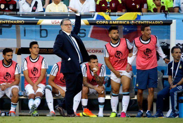 Martino se refirió a Messi