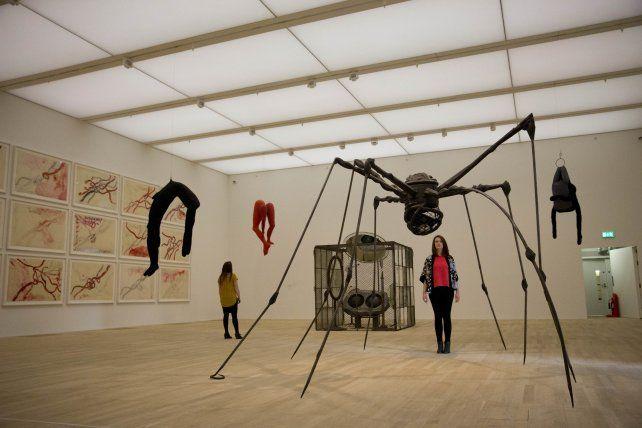 Muestra. Una obra de la artista Louise Bourgeois en el nuevo espacio.