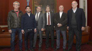 Los seis candidatos. Daniel Giraudo