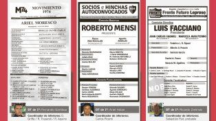 Newells elige nuevo presidente entre seis candidatos en pugna para conducir los destinos del club