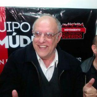 Bermúdez celebró en su búnker el triunfo en los comicios presidenciales.