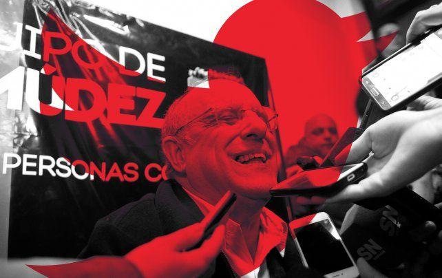 Bermúdez fue elegido como presidente de Newells esta tarde.