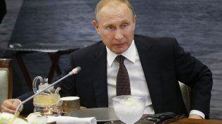 putin. El presidente ruso.