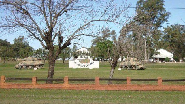 chajarí. El soldado voluntario apareció muerto ayer a la madrugada a la vera del Regimiento de Caballería de Tanques 7