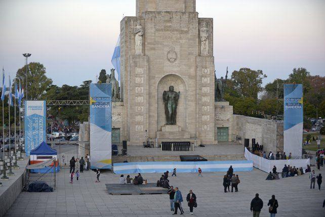 Macri encabezará el acto en el patio cívico.