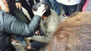 El concejal Toniolli publicó un video donde se observa cuando es agredido por un gendarme