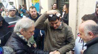 la reaccion en las redes sociales ante la agresion al concejal toniolli de parte de gendarmeria