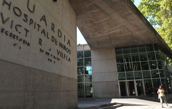 El Hospital de Niños Víctor J. Vilela.