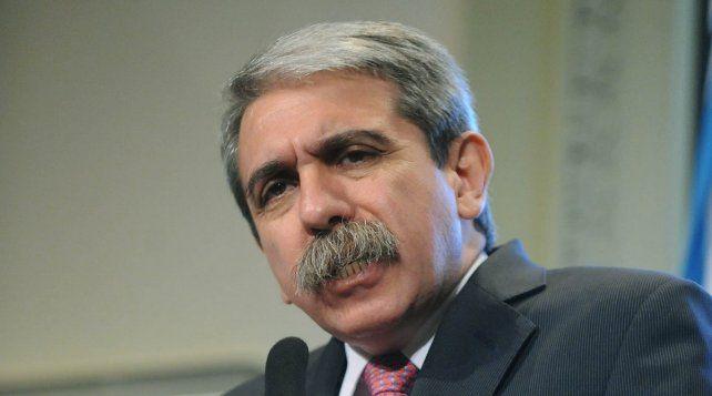 El exjefe de Gabinete Aníbal Fernández negó hoy conocer a Ibar Pérez Corradi