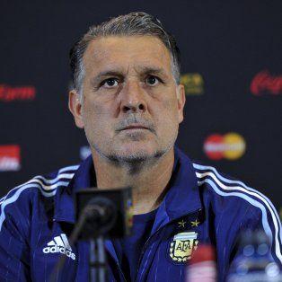Martino dijo que al equipo lo veo muy bien y unido como siempre.