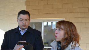 Habilitación. El intendente casildense José José Sarasola y la titular de Desarrollo Social