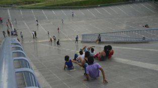 Tobogán. La imagen se tornó repetida en el último año y medio