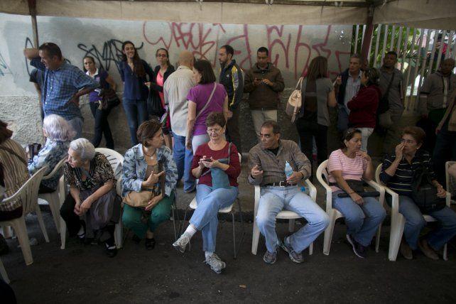 Paciencia. Ciudadanos de Caracas