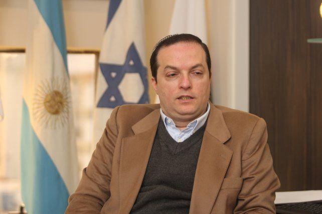 Rosarino. Cohen Sabban aspira a que la Daia se abra más a la sociedad argentina en su conjunto.