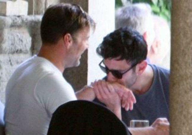 Ricky Martin se reconcilió con su novio y ya hay fotos juntos en Italia