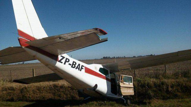 Abandonaron una misteriosa avioneta procedente de Paraguay que estaría vinculada con el narcotráfico