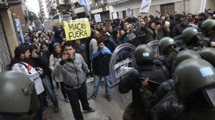 desde el pro deslizaron que los manifestantes fueron responsables de los incidentes del 20 de junio