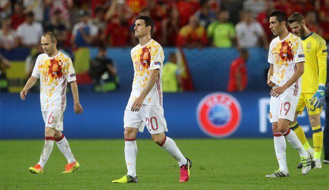 España cayó ante Croacia y se enfrentará a Italia en octavos.