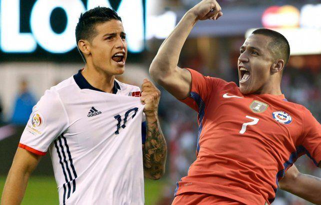 La TV Pública transmitirá el duelo de semifinales entre Colombia y Chile.