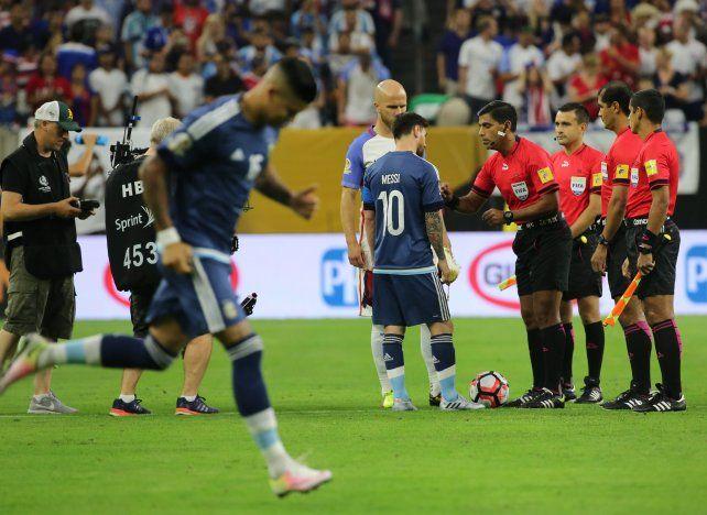 Argentina va esta noche con la camiseta azul.