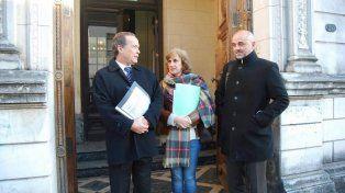 Presentación. Los diputados Giustiniani
