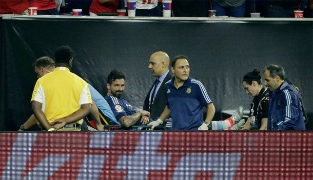 Lavezzi salió lesionado pero anhela llegar a la final de la Copa América.