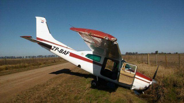 Se sospecha que la aeronave transportaba carga ilegal.