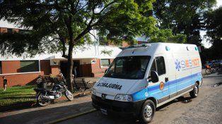 El Hospital Alberdi. La víctima fue atendida allí y su estado de salud no revestía gravedad.