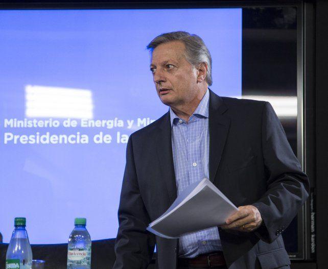 El ministro de Energía fue CEO de Shell hasta diciembre pasado.