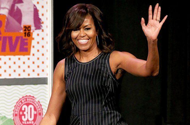 Michelle Obama se sumó a la red social Snapchat