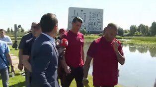 Cristano Ronaldo tuvo un ataque de ira ante la pregunta de un periodista